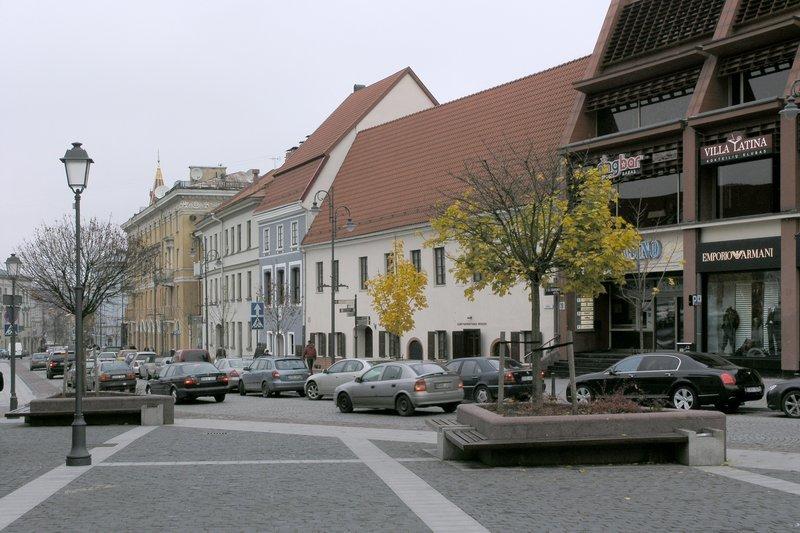 фото города паневежис для