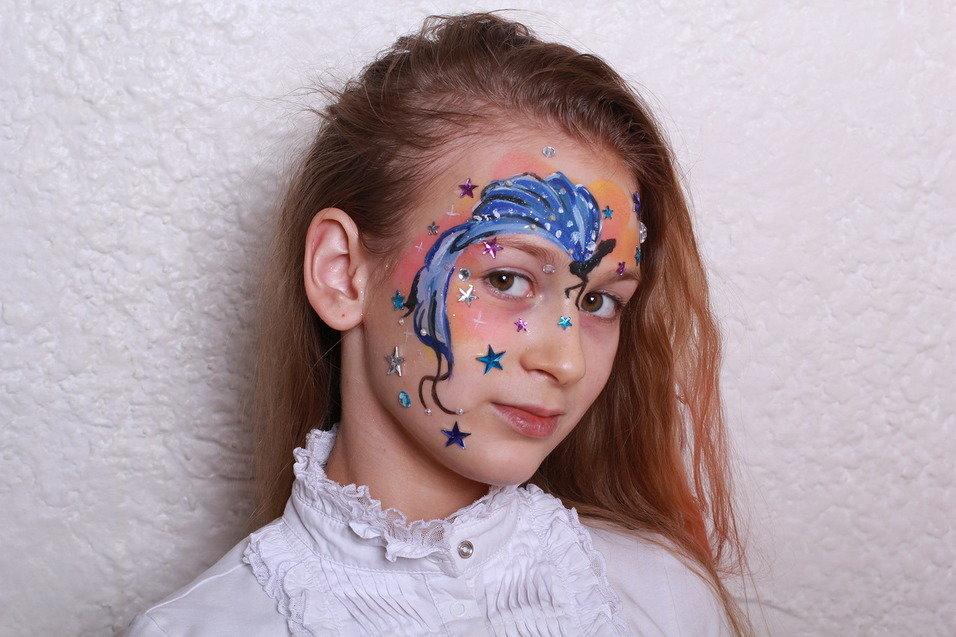 Рисование на лице картинки