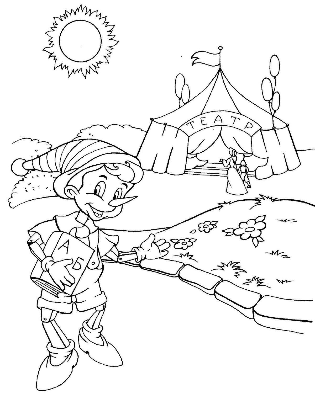 сказочный рисунок карандашом должны