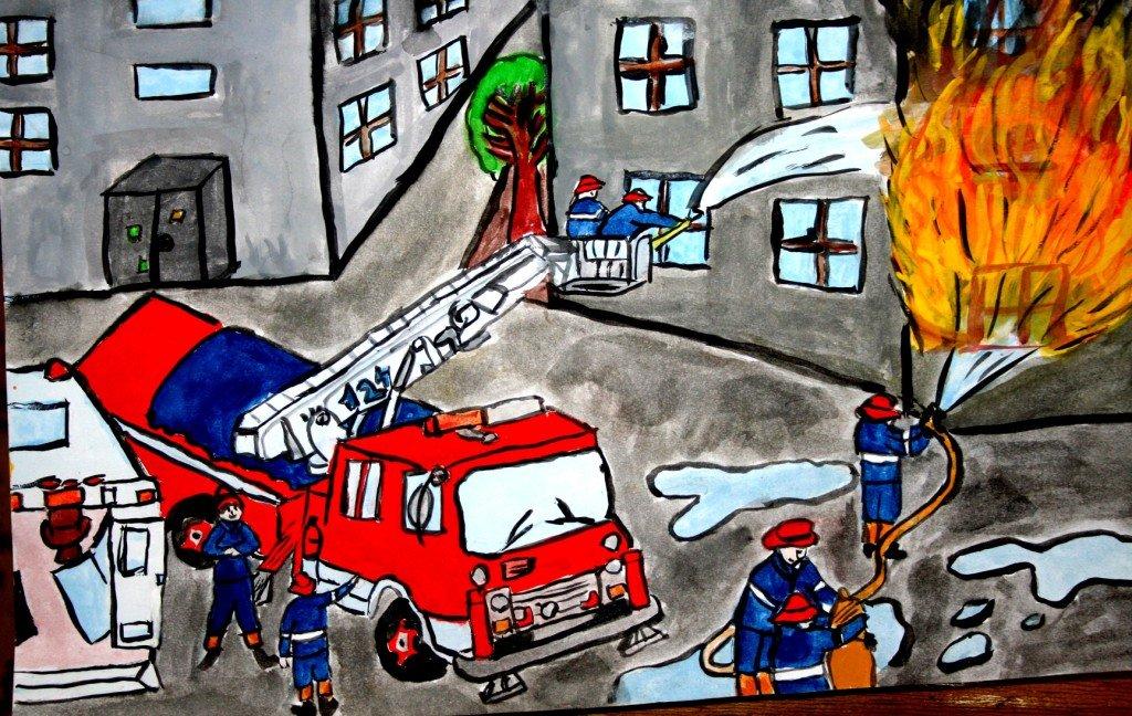 Картинки на день пожарника для детей