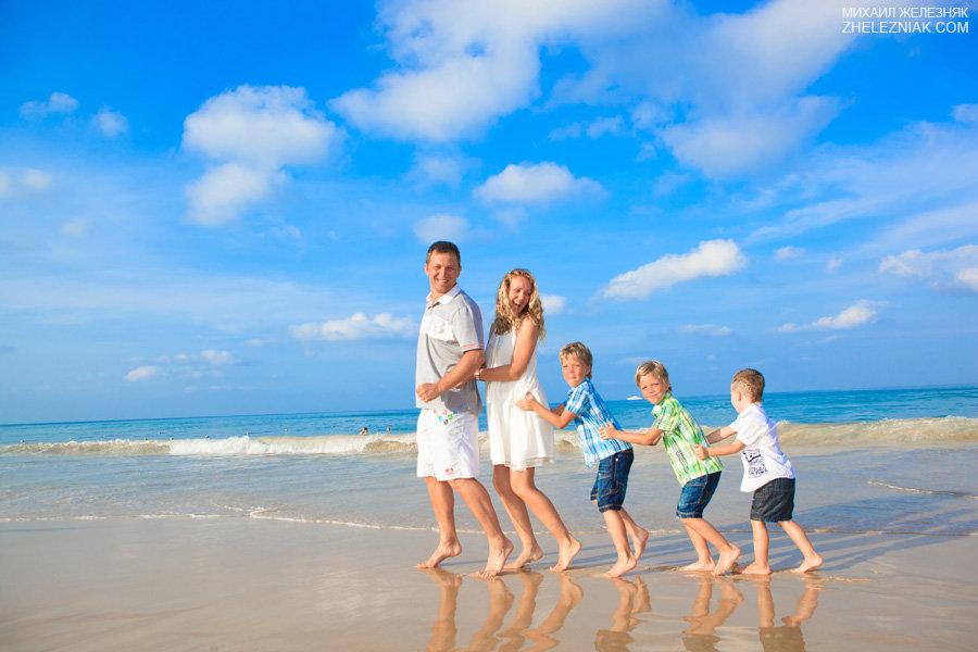 картинки море семья автоматически