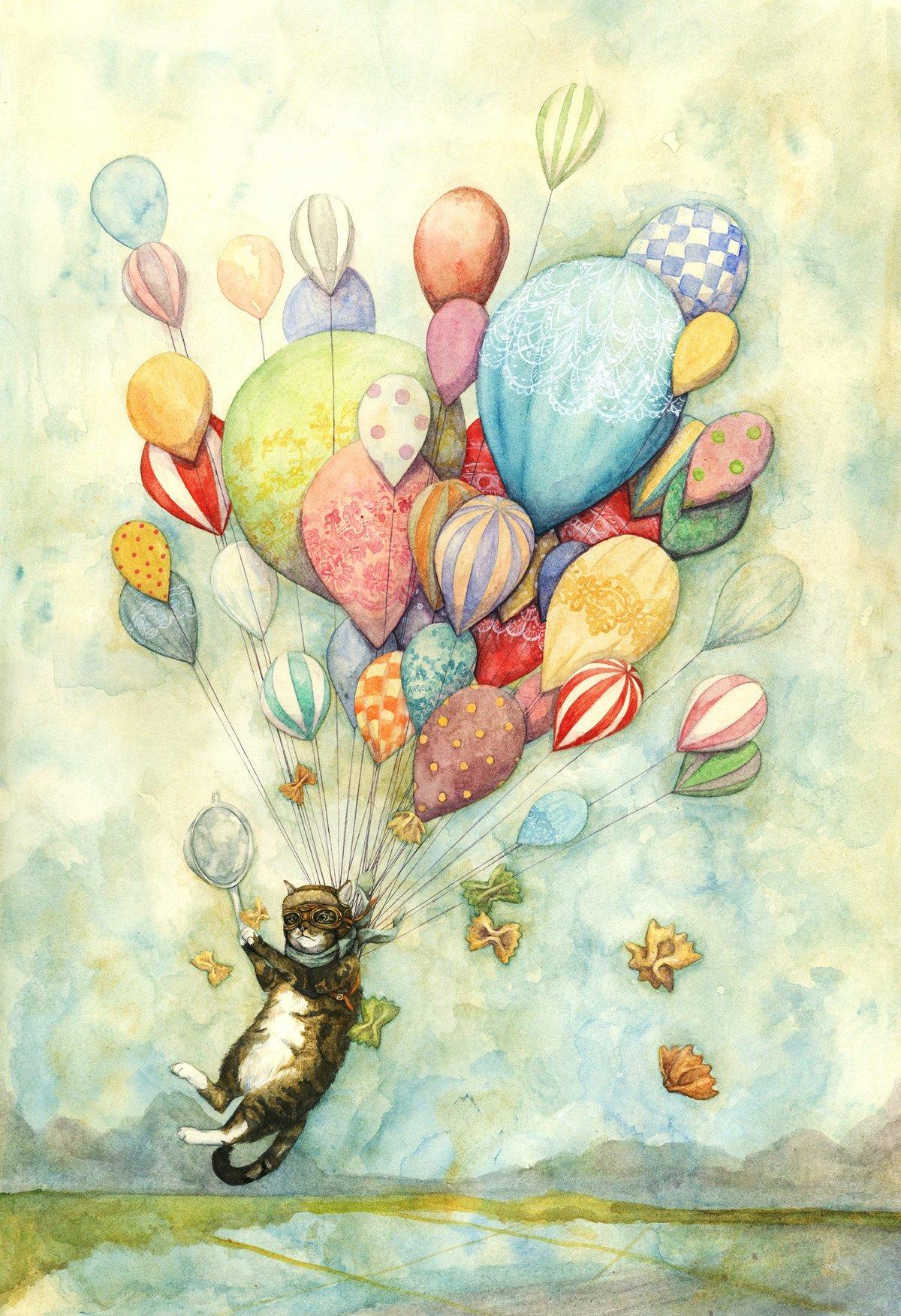 Красивая открытка рисунок