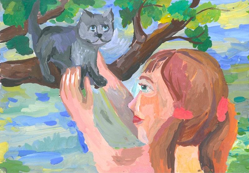 Рисунок в картинках на тему