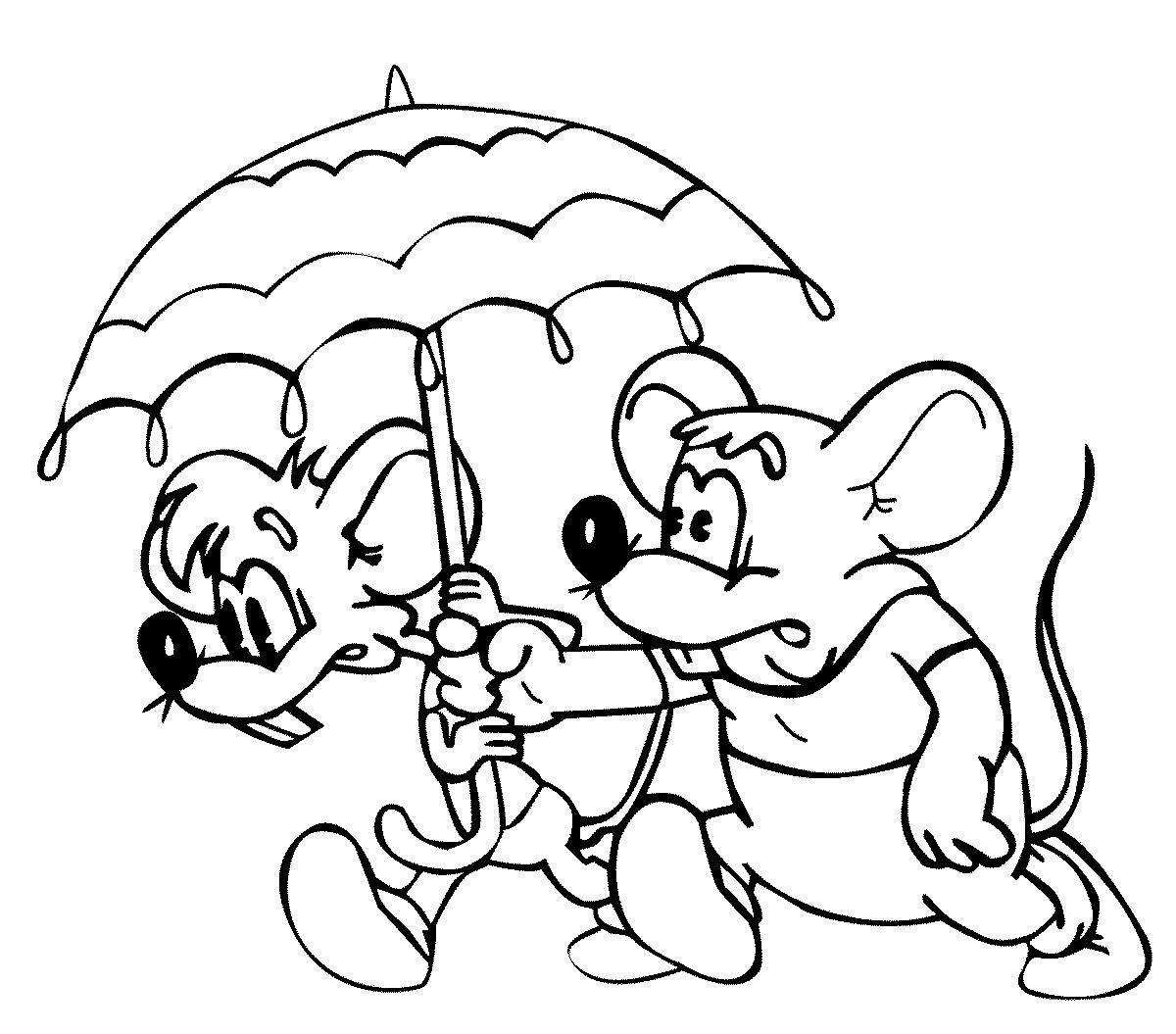 Детские картинки из мультфильмов раскраски