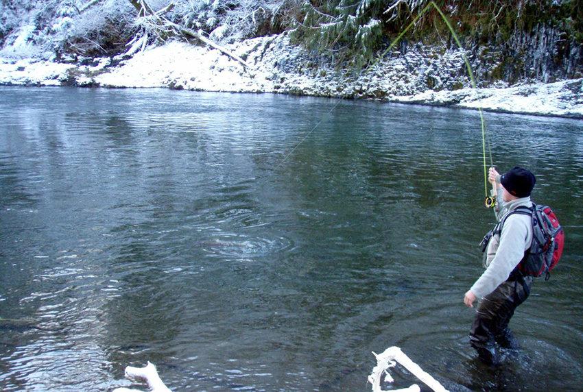 Ловля рыбы зимой на открытой воде