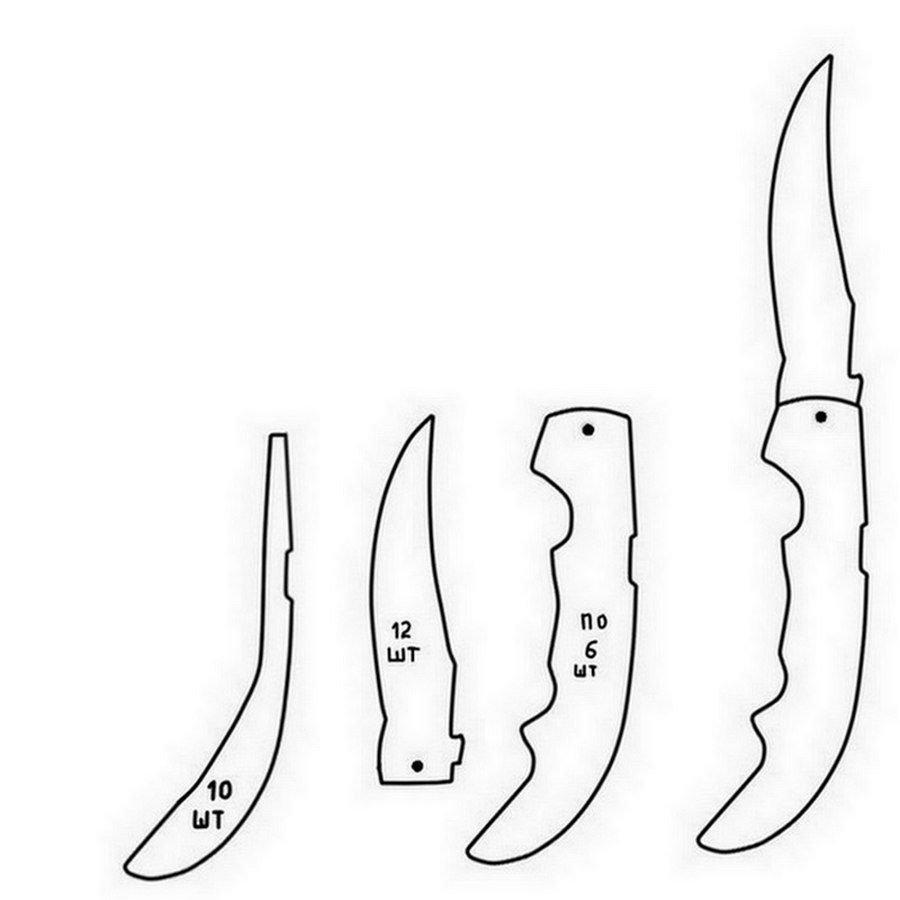 Картинки ножа на бумаге