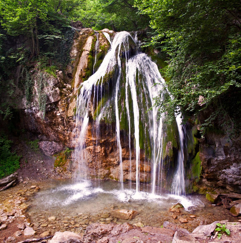 какие водопады есть в крыму фото