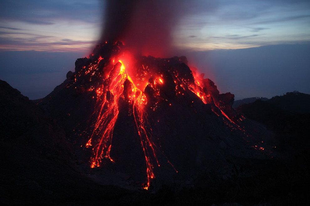 вулкан иксканул
