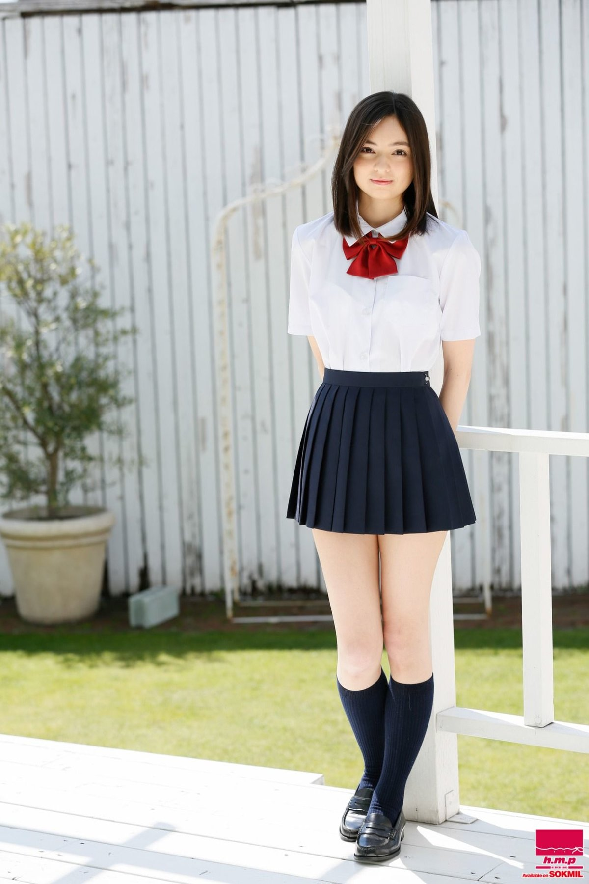 Japan cute junior high school girls #11