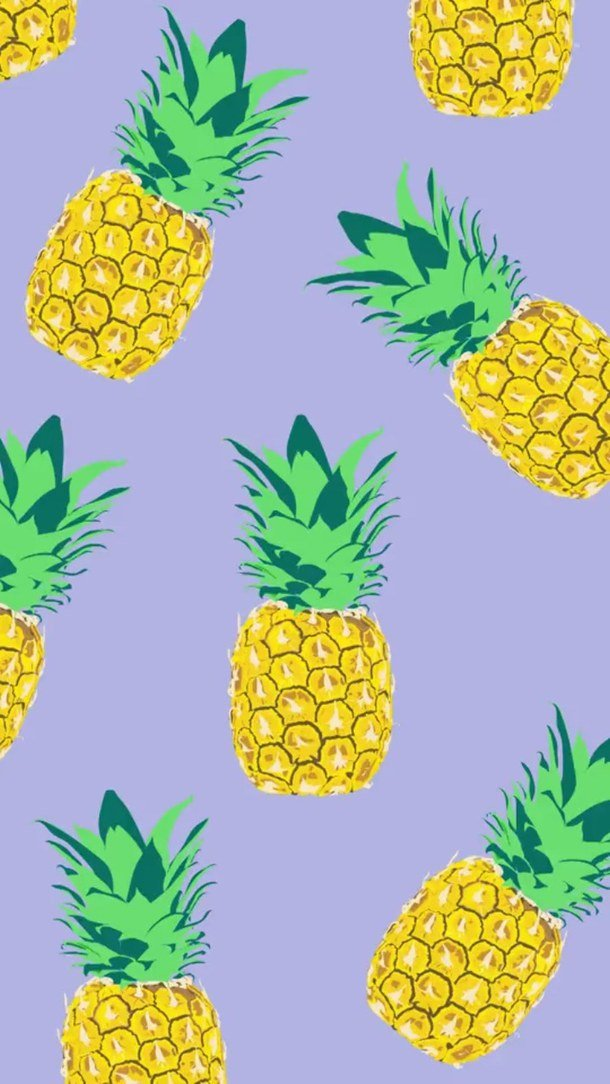 Красивый, картинки для бейджика с ананасами