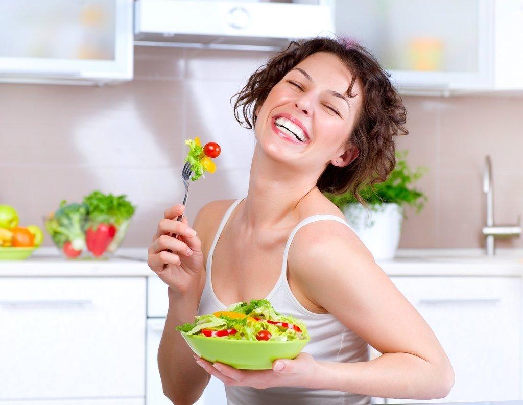 диета для работающей женщины
