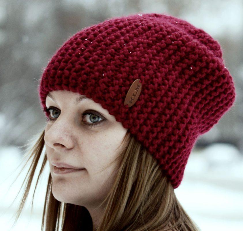 женская шапка вязаная спицами Card From User Juliagolomazova In