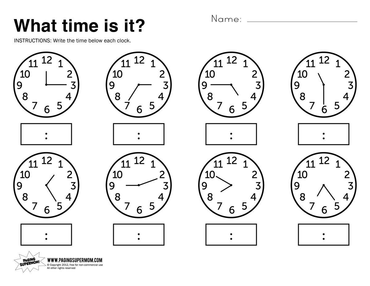 При должном подходе к первому классу дошкольник уже сможет отвечать на вопрос, который сейчас час.