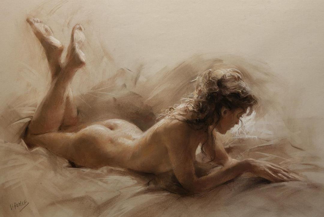 Рисунки голых женщин от художников — photo 13