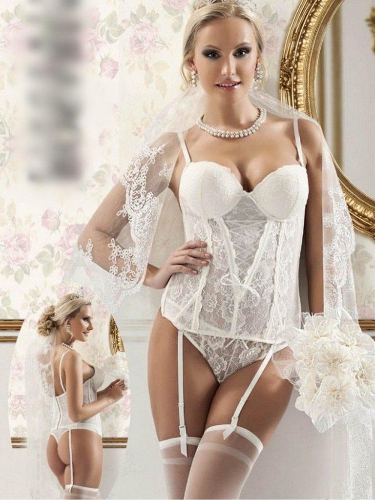 это теперь невесты в интимном белье увидела, что майор