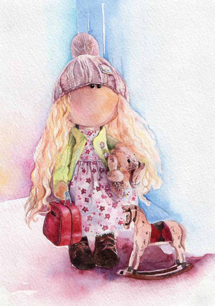 Картинки кукол ручной работы для визиток