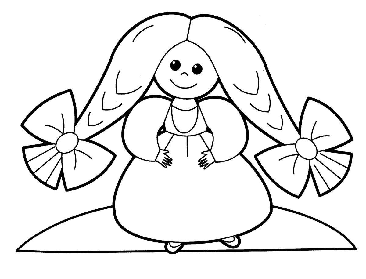 Картинки для раскрашивания для детей 3-4 девочек, лучшая пятница анимационные