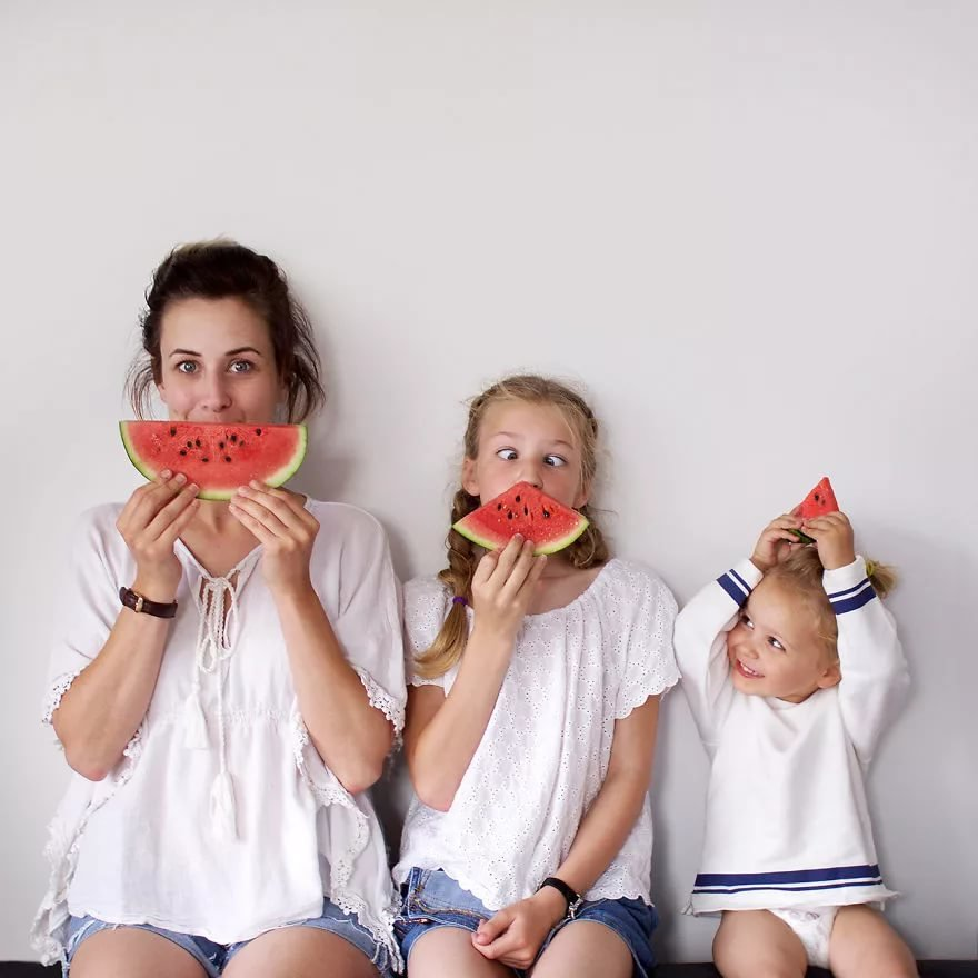 Кейдж картинки, мама и дети смешные картинки