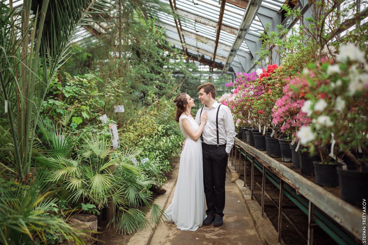 скелеты кроются ботанический сад фото молодоженов сегодня подумала