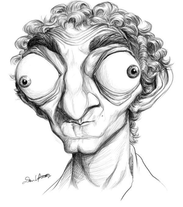 Рисунки карандашом карикатуры смешные, картинки днем дочери