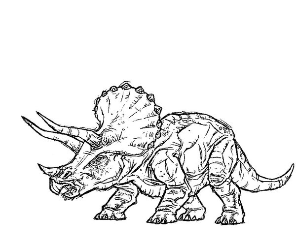 7 Pics Of Jurassic Park Coloring Pages