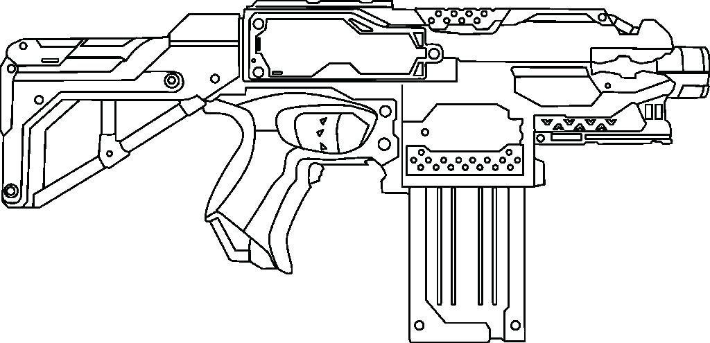 Machine Gun Coloring Pages Simploosco Card From User - Machine-gun-coloring-pages