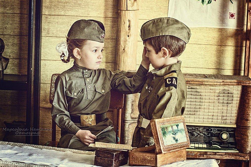 Как сделать постановочное военное фото