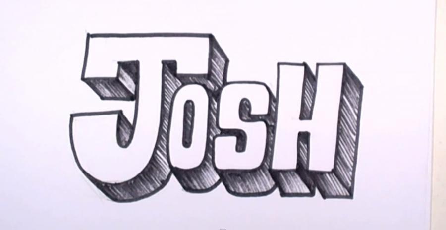 Легкие рисунки карандашом граффити имена камней
