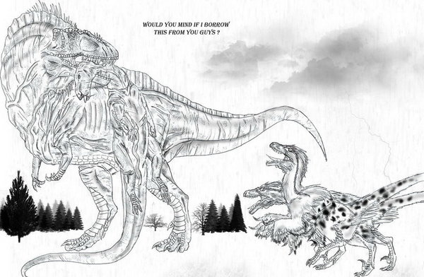 Jurassic Park Coloring Pages Jurassic World Coloring Pages ... | 392x600