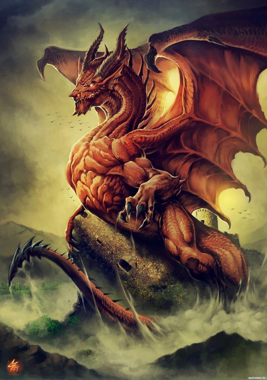Картинки, прикольные картинки на аву дракон