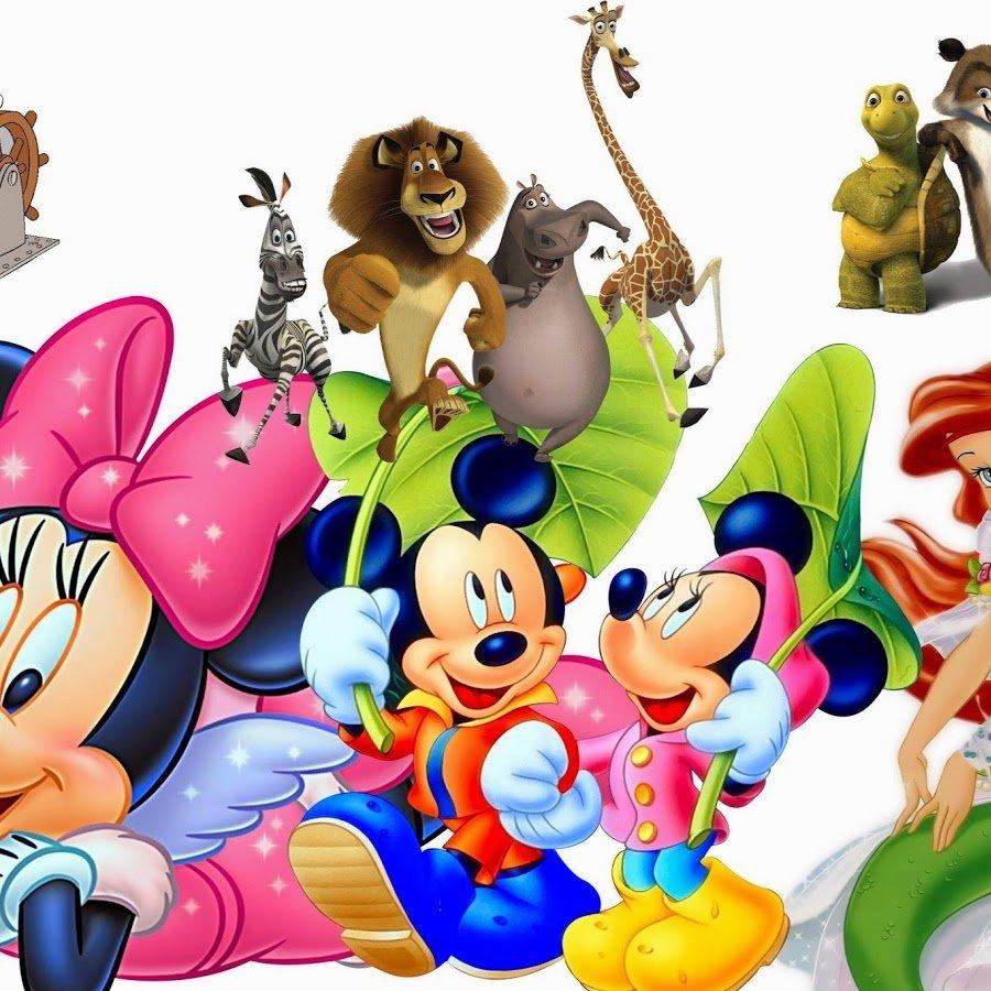 Картинки диснеевских героев из мультфильмов