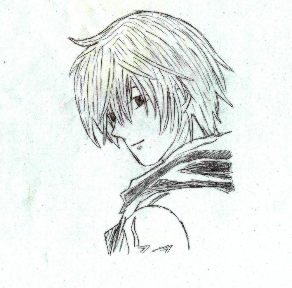 Anime boy pencil sketch bing images