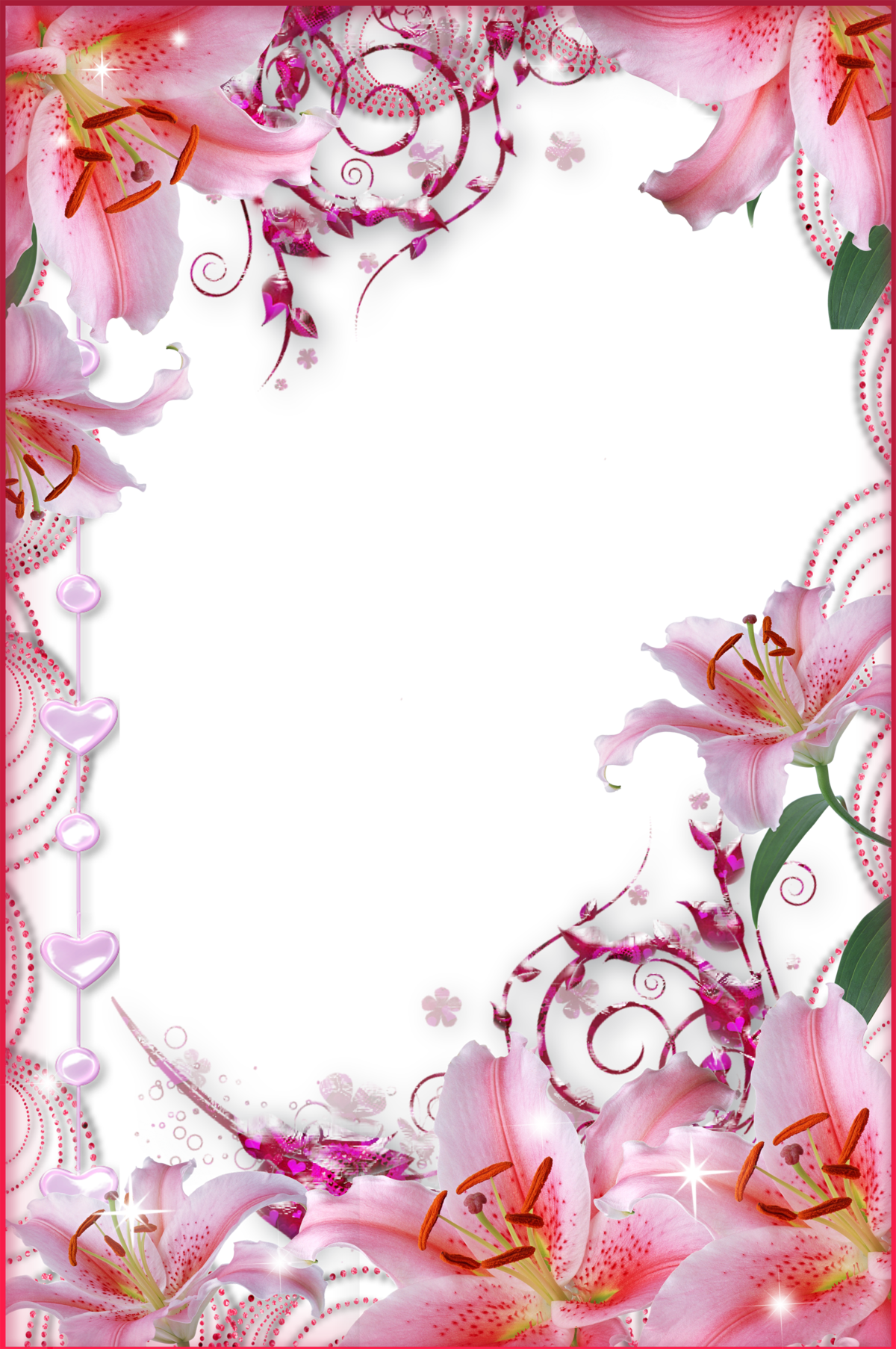 Рамки и открытки из фотошопа, конфет