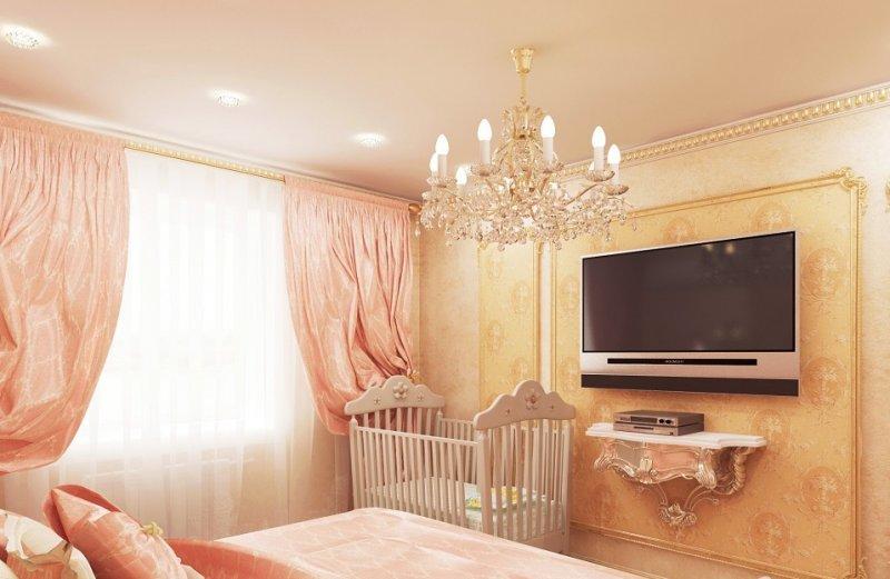 распродажа мебели дизайн комнаты в персиковых тонах фото тем