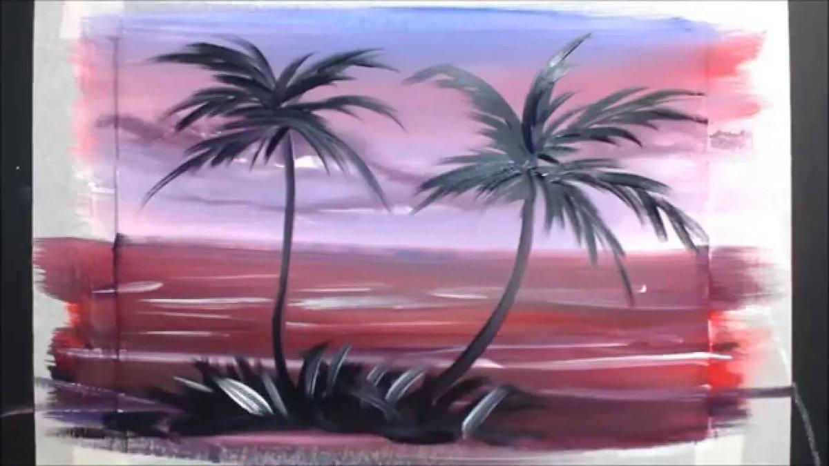 Нарисовать картинку красками за 5 минут, открытка новый