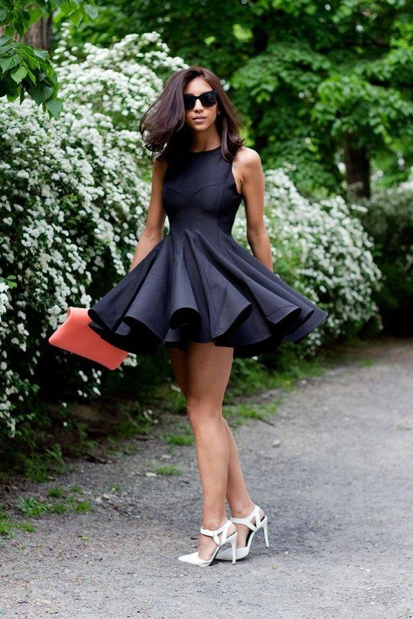 Картинки платье с юбкой солнце