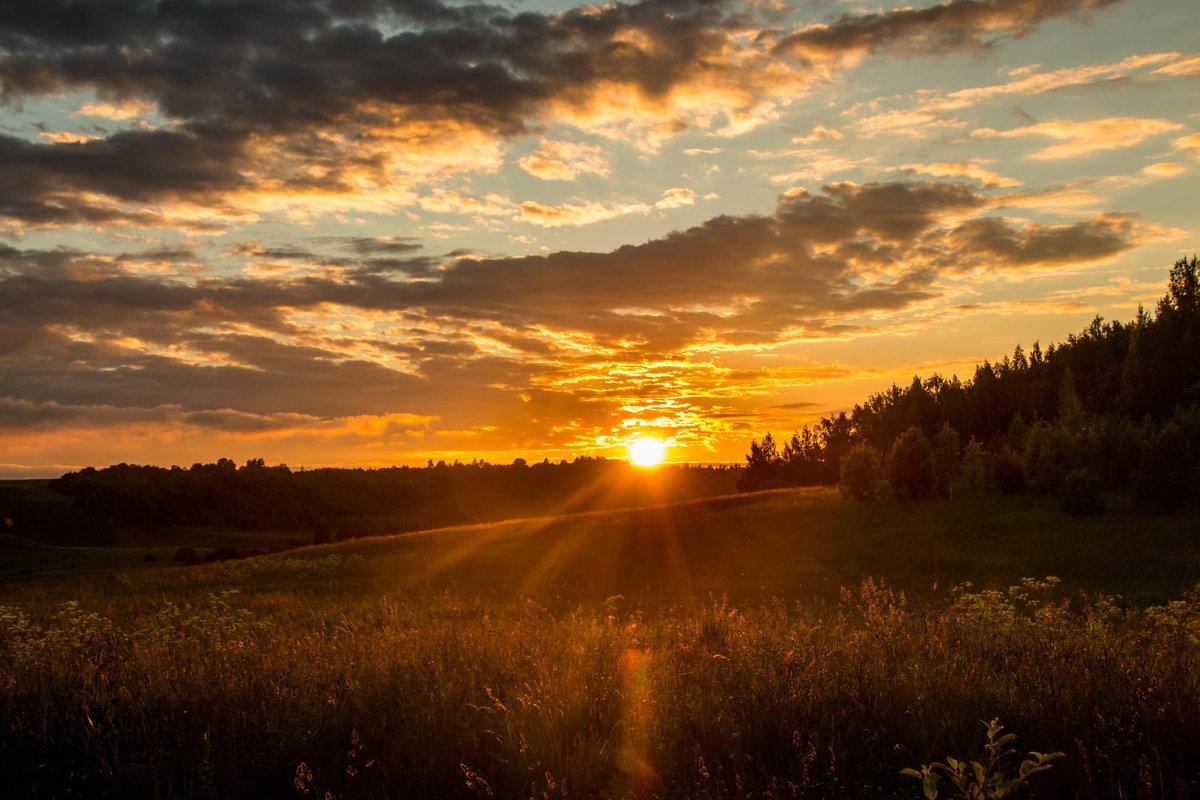 колобка лето закат фото удлиненными