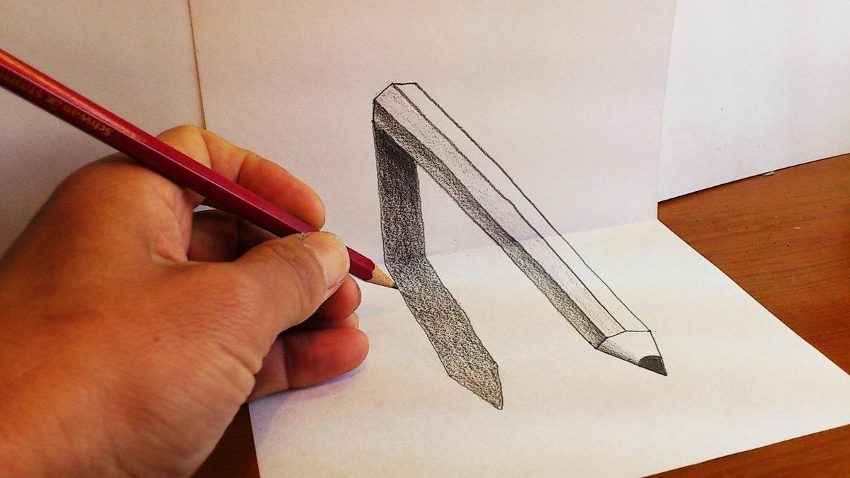 как сделать красивую картинку карандашом всегда рождал предложение