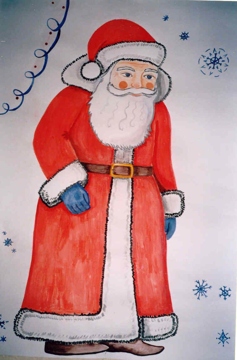 дед мороз нарисовать картинка вам понравилась