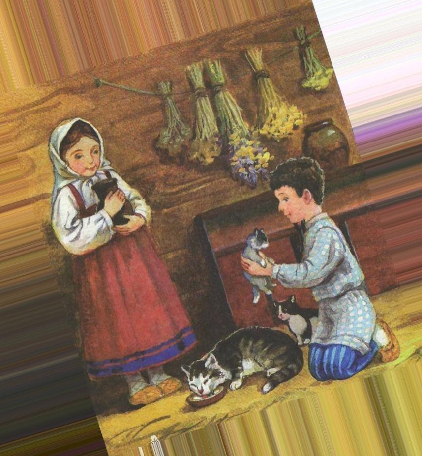 Толстой котенок картинки к рассказу