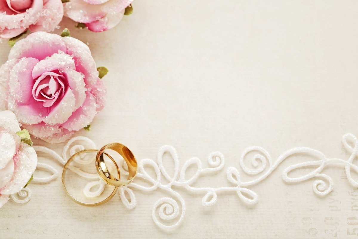 Фон открытка на свадьбу