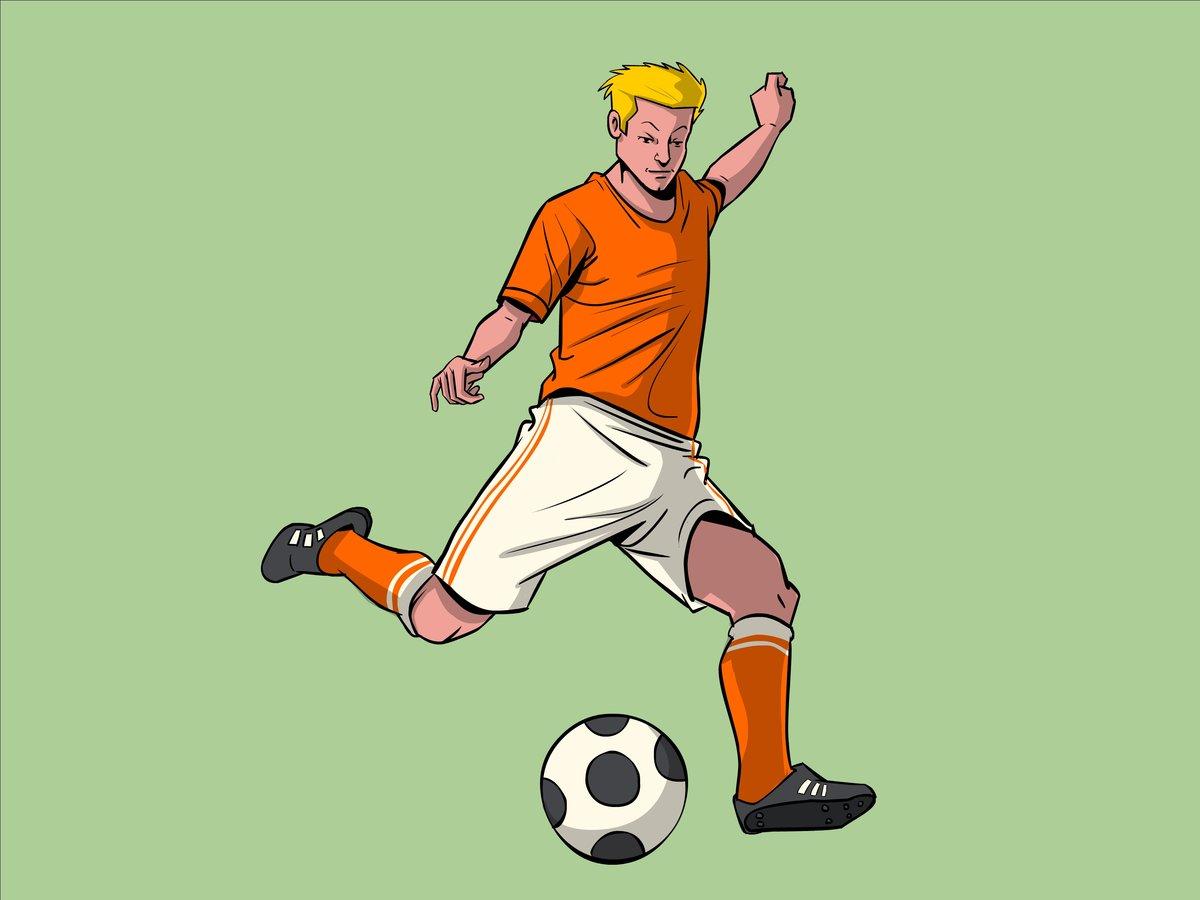 картинки с футболистами для рисунка удобства клиента