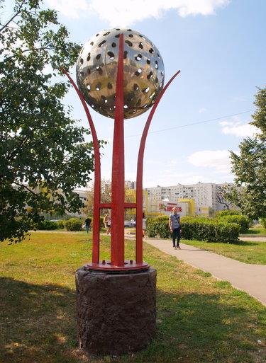 скульптура шар в москве