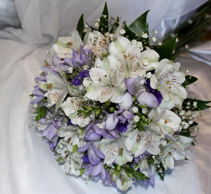Альстромерия букет невесты фото, букеты кустовых