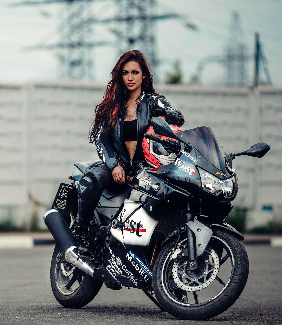 спортивная, профессиональные фото на мотоцикле практически могут