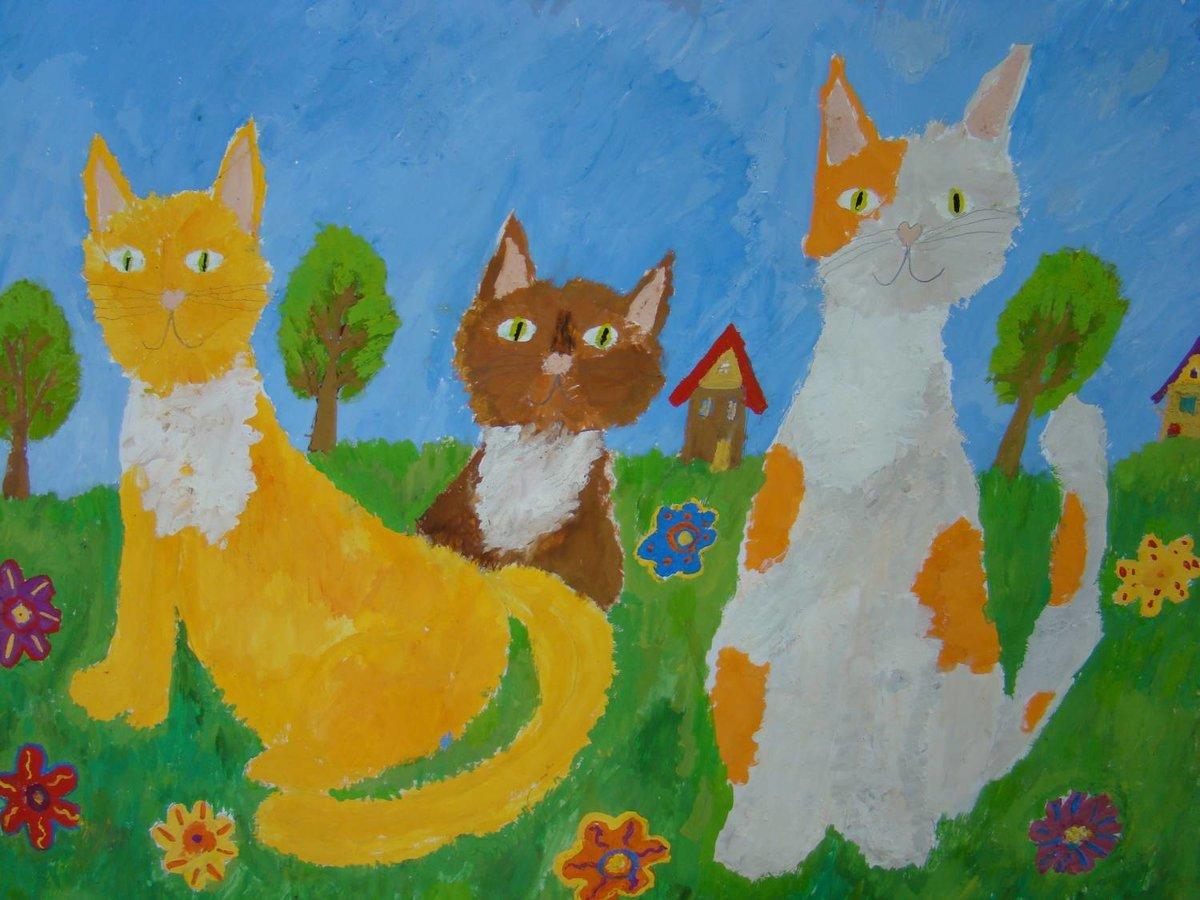 Как сделать, картинки которые нарисовали дети 8 лет 2 класс