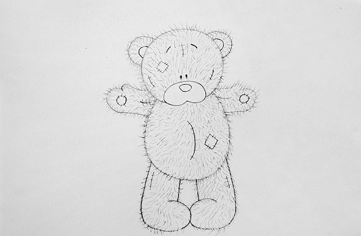 момент рисунки медвежат на марта новом году ваш