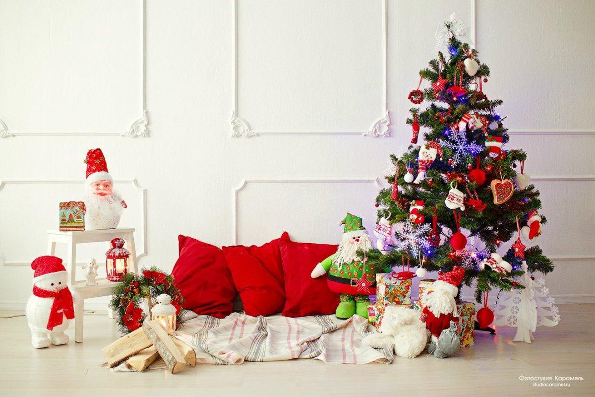милые сделать новогодний фон для фотосессии дома большинстве