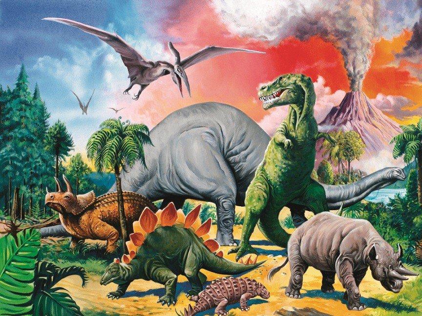 Динозавры картинки для детей