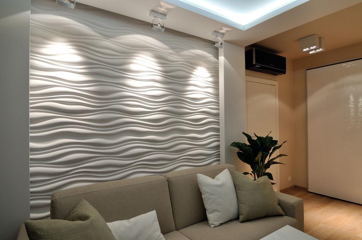декоративные панели из гипсокартона